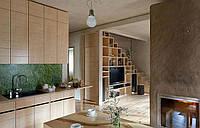 Кухня в стиле Лофт (МДФ крашеный)