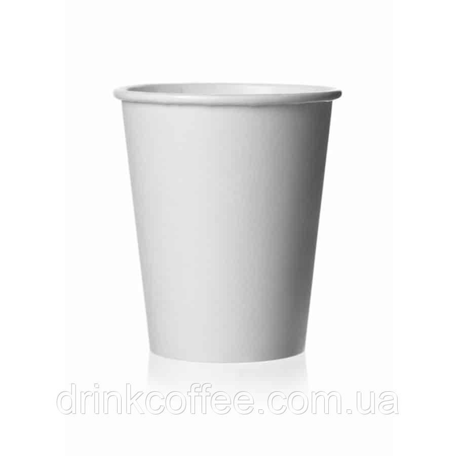 Бумажные стаканчики белые 175мл 50шт.уп