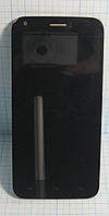 Ergo A502 LCD Дисплей і сенсор в рамці полосить (Original) б/у.