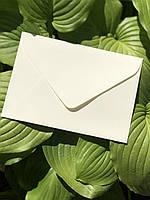 Подарочный конверт С5 из плотной крафт бумаги айвори крем