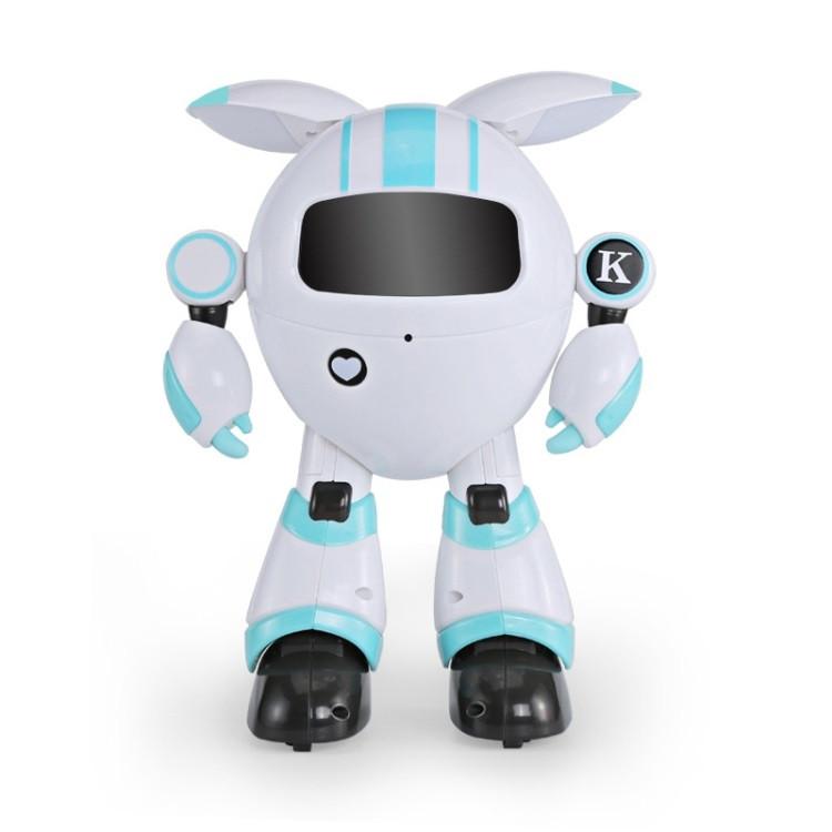 Робот JJR/C R14 KAQI-YOYO багатофункціональний робот на р/к Біло-Блакитний (SUN4923)