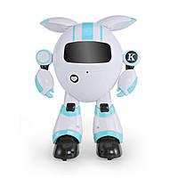 Робот JJR/C R14 KAQI-YOYO багатофункціональний робот на р/к Біло-Блакитний (SUN4923), фото 1