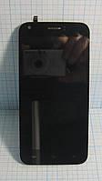 Ergo A502 LCD Дисплей і сенсор в рамці (Original) б/у.