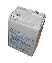 Аккумуляторная батарея AGM Luxeon LX645В 6В 4,5АЧ под фонари