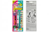 Лак-карандаш для ногтей детский Creative Nails на водной основе (2 цвета бирюзовый + розовый)