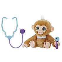 Интерактивная обезьянка Занди furReal Check-up Zandi Hasbro