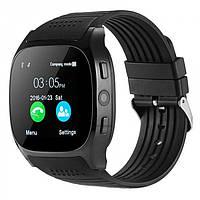Сенсорные Smart Watch T8 смарт часы умные часы Чёрные