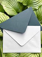 Подарочный конверт С5 из плотной крафт бумаги личи