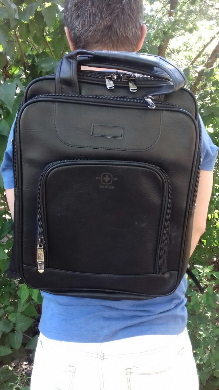 Рюкзак + сумка, универсал городской Swissgear.