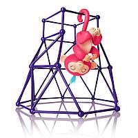 Интерактивная ручная обезьянка Fingerlings с площадкой Jungle Gym Playset Interactive Baby Monkey Aimee Днепр