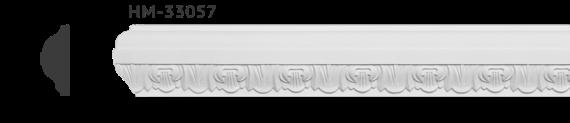 Молдинг для стен с орнаментом Classic Home HM-33057, лепной декор из полиуретана