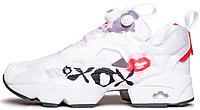 Женские кроссовки Reebok Instapump Fury XOXO White Рибок Инста Памп белые