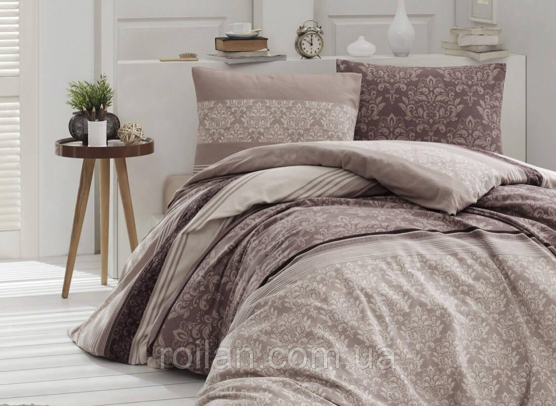 Турецкое постельное белье в коричневых тонах