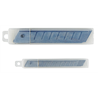 Лезвия для ножей BUROMAX 9 мм (10 лезвий в упаковке) BM.4690 Buromax (импорт)