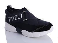 Кроссовки женские Fuguishan 37-34-1 black (36-41) - купить оптом на 7км в одессе