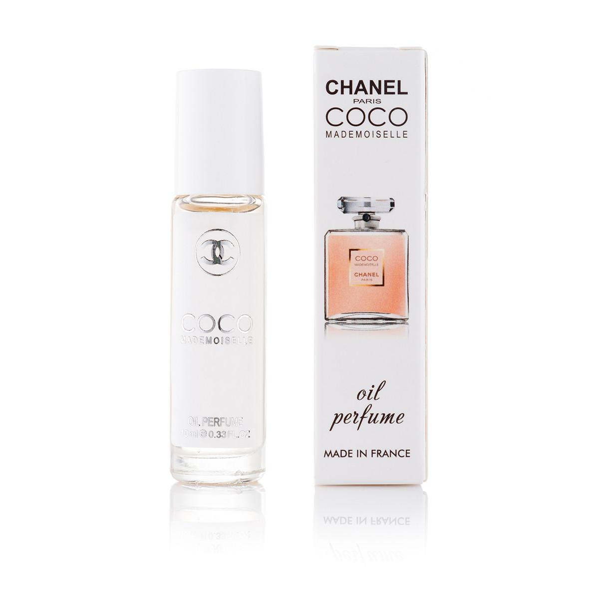 Масляный парфюм Chanel Coco Mademoiselle - 10 мл (шариковый) (ж)
