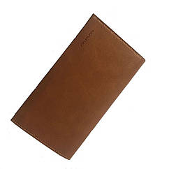 Чоловіче портмоне Wallet case шкіряний. колір коричневий