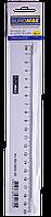 Линейка пластиковая прозрачная 20см, в блистере BM.5826-20 Buromax (импорт)
