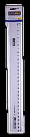 Линейка пластиковая прозрачная 30см, в блистере BM.5826-30 Buromax (импорт)