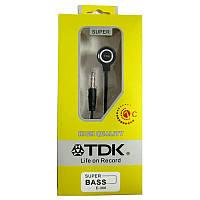 Наушники   (Китай) TDK E-306 black вакуумные