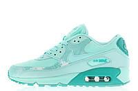 "Женские кроссовки Nike Air Max 90 Premium Print ""Artisan Teal"" размер 36 Мятный UaDrop111283-36, КОД: 234334"