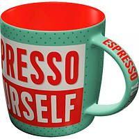 "Кружка ""Espresso Yourself"" Nostalgic Art (43031)"