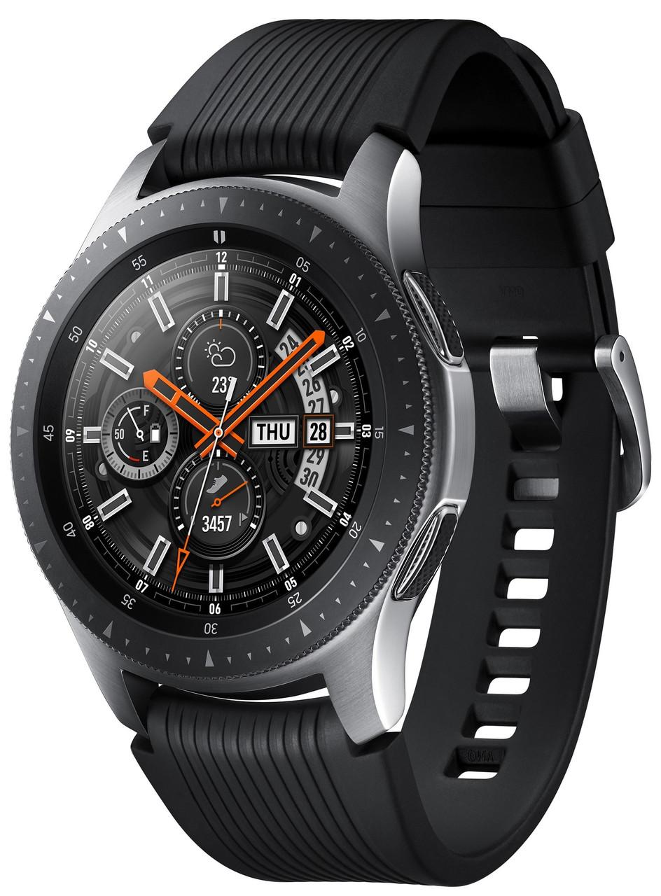 Смарт-часы Samsung Galaxy Watch 46mm Silver (SM-R800NZSA) (оригинал)