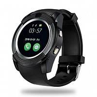 Сенсорные Smart Watch V8 смарт часы умные часы Чёрные (РК-45129)