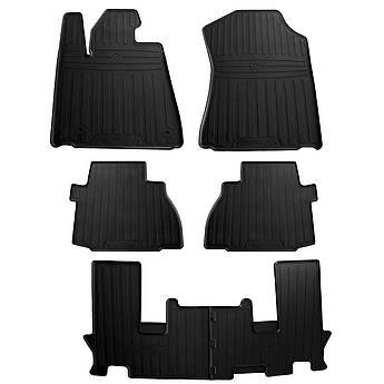 Коврики в салон резиновые для Toyota Sequoia (7 seats) 2008- Stingray (7шт)