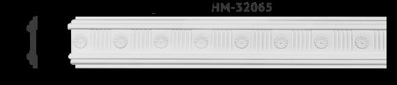 Молдинг для стен с орнаментом Classic Home HM-32065, лепной декор изполиуретана