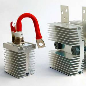 вентиляторы и охладители для силовых полупроводников