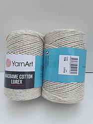 Macrame Cotton Lurex (Макраме Котон Люрекс) (85% хлопок, 15% полиестер) 724