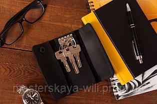 Ключница. Чехол для ключей из натуральной кожи