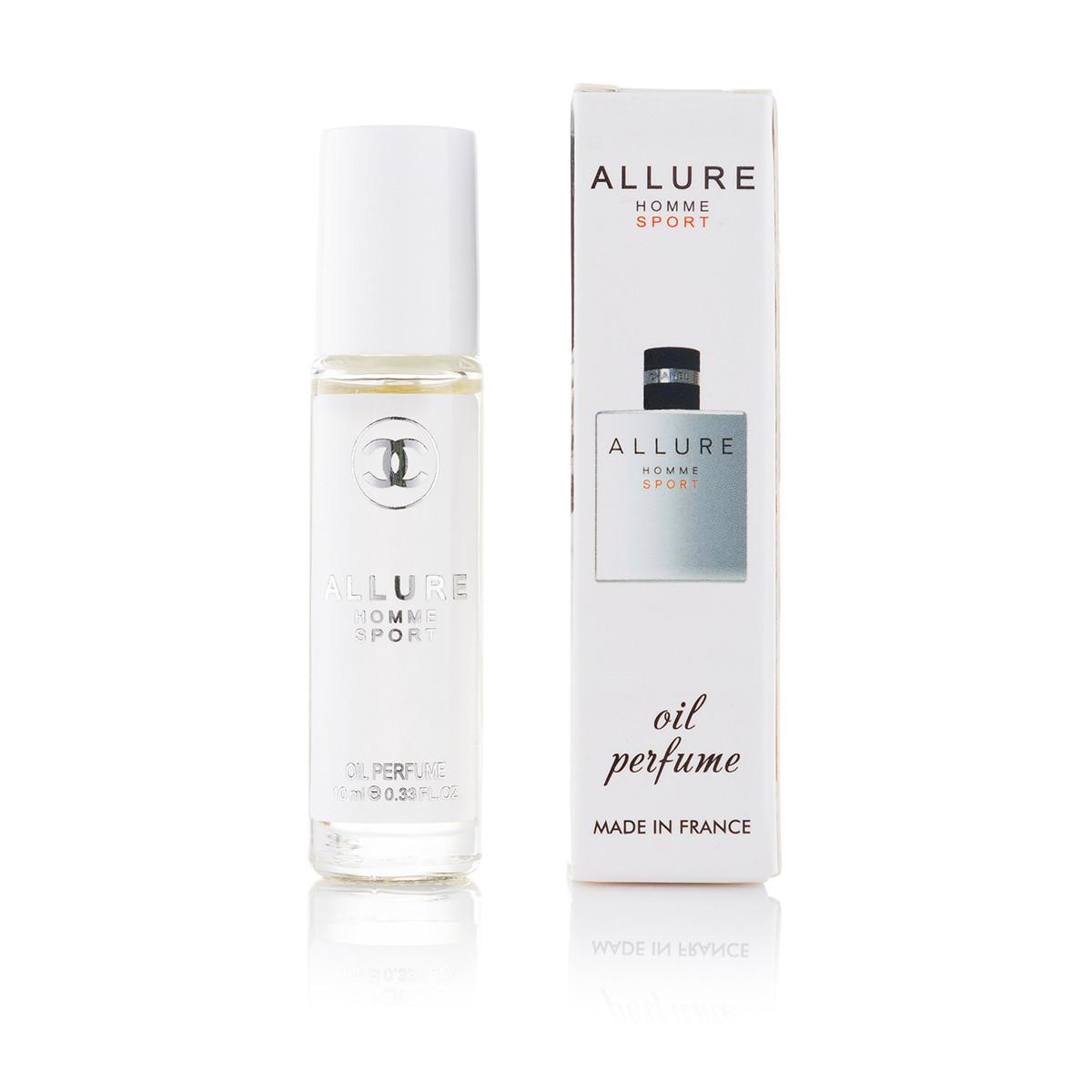 Масляний парфум Chanel Allure homme Sport - 10 мл (кульковий) (м)