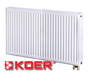 Стальной радиатор Koer 500х1200 тип 22 (нижнее подключение)