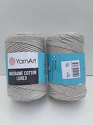 Macrame Cotton Lurex (Макраме Котон Люрекс) (85% хлопок, 15% полиестер) 725