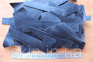 Обрезки кожи, толщина 1.4 мм, артикул СК 9006 синий