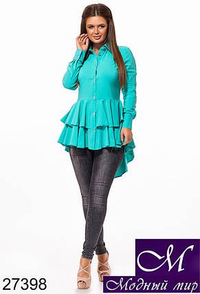 Стильная женская рубашка (р. S, M, L) арт. 27398, фото 2