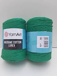 Macrame Cotton Lurex (Макраме Котон Люрекс) (85% хлопок, 15% полиестер) 728