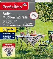 Противомоскитная спираль Profissimo, 10 шт.