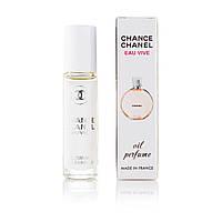 Масляний парфум Chanel Chance Eau Vive - 10 мл (кульковий) (ж)