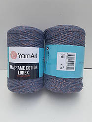 Macrame Cotton Lurex (Макраме Котон Люрекс) (85% хлопок, 15% полиестер) 731