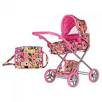 Коляска для куклы Melogo 9333-2 Розовый int9333-2, КОД: 127441