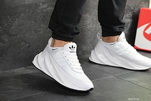Мужские модные кроссовки Adidas Sharks,белые 44р, фото 2