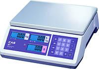 Электронные весы со счетчиком цены CAS ER-JR-CB (6/15/30кг)