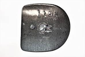 Каблук женский пластиковый 1285 р.1-3  h-12,1-13,0 см., фото 3