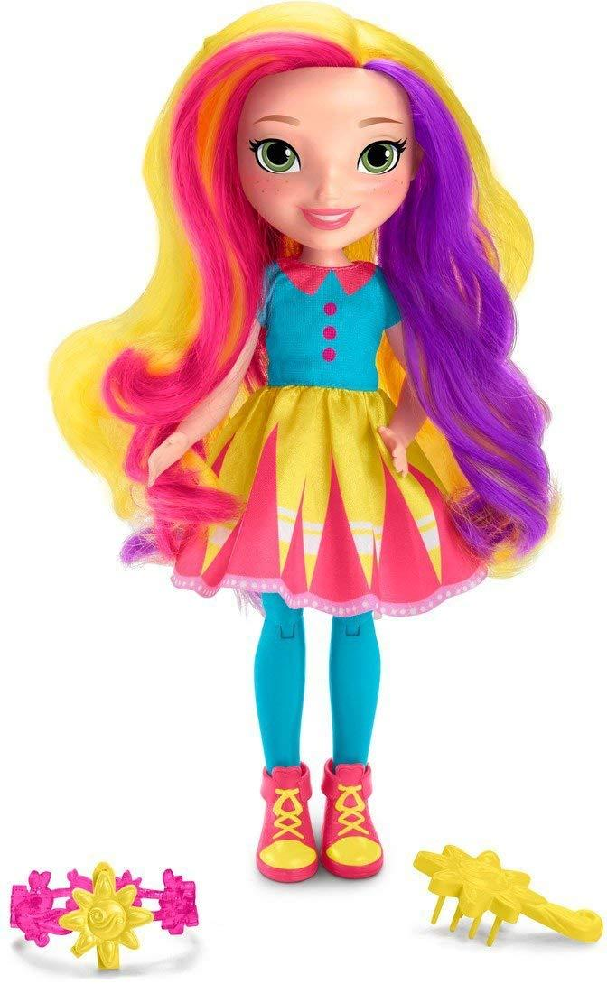 Кукла Sunny Day Brush & Style. Nickelodeon. Sunny (Санни Дей. Санни шарнирная)