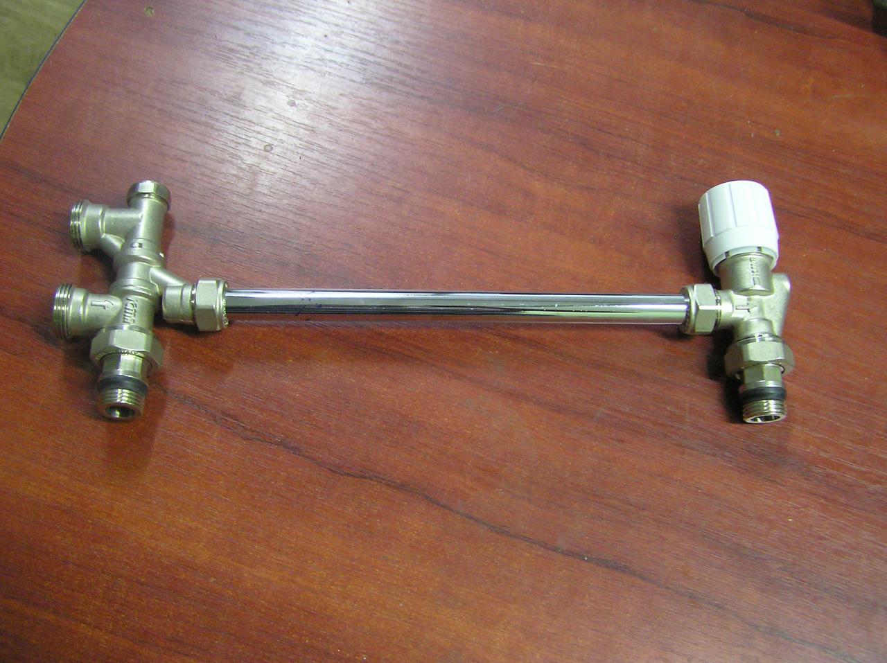 Комплект нижнего подключения радиатора отопления