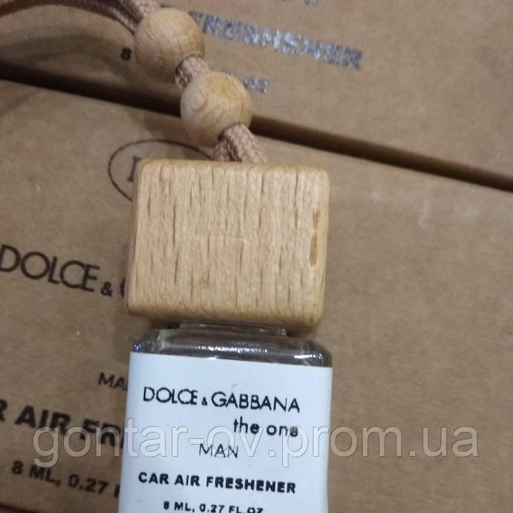 Автоароматизатор Dolce Gabbana The One Men (Дольче габбана зе Ван Мен) 8 ml