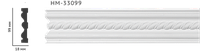 Молдинг для стен с орнаментом Classic Home HM-33099, лепной декор из полиуретана